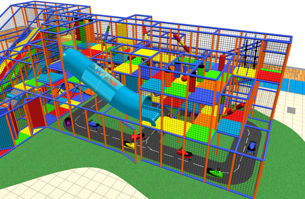 irec indoor playground for resorts